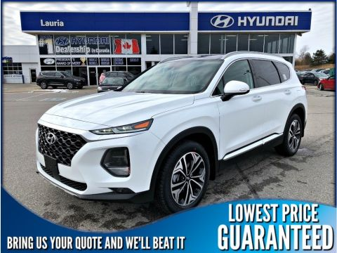 New 2019 Hyundai Santa Fe 2.0T AWD Ultimate Auto