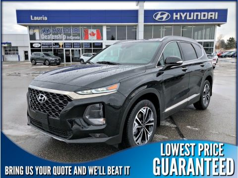 New 2020 Hyundai Santa Fe 2.0T AWD Ultimate Auto