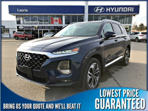 New 2019 Hyundai Santa Fe 2.0T AWD Ultimate Auto *DEMO*