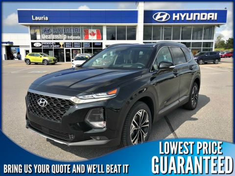 New 2019 Hyundai Santa Fe 2.0T AWD Ultimate - DEMO includes Winter Tire pkg