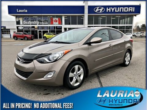 Pre-Owned 2012 Hyundai Elantra GLS Manual - Sunroof