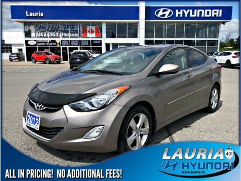 Pre-Owned 2012 Hyundai Elantra GLS Auto - Sunroof / Low kms