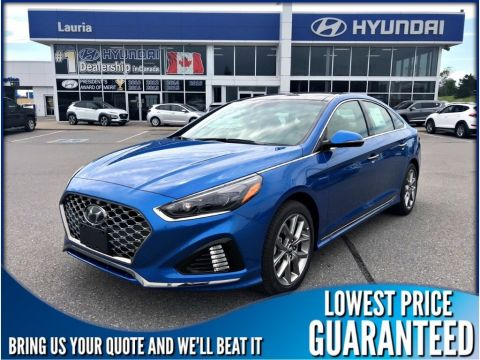 New 2018 Hyundai Sonata 2.0T Sport Auto *Includes Snow Tires*