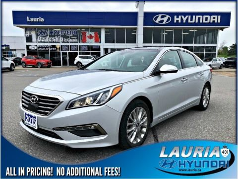 Pre-Owned 2015 Hyundai Sonata Limited - Navigation / Leather