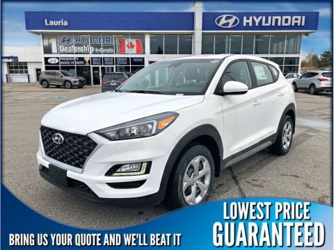New 2019 Hyundai Tucson 2.0L AWD Essential w/Safety Pkg *DEMO*