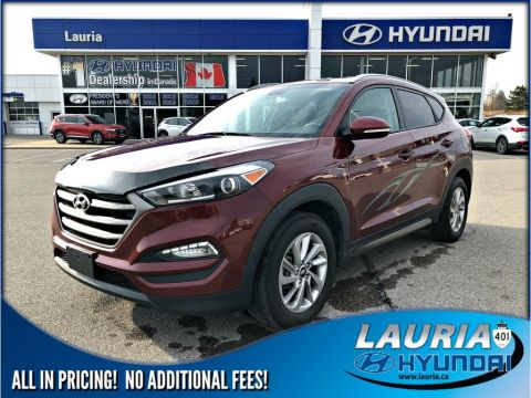 Pre-Owned 2016 Hyundai Tucson 2.0L AWD Premium - Bluetooth / Rear view camera
