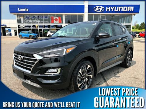 New 2019 Hyundai Tucson 2.4L AWD Ultimate - DEMO includes Winter tire pkg