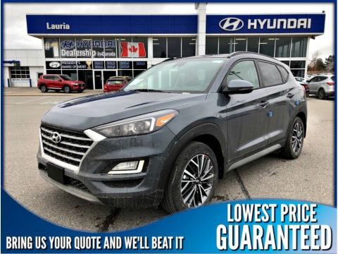 New 2019 Hyundai Tucson 2.4L AWD Luxury Auto