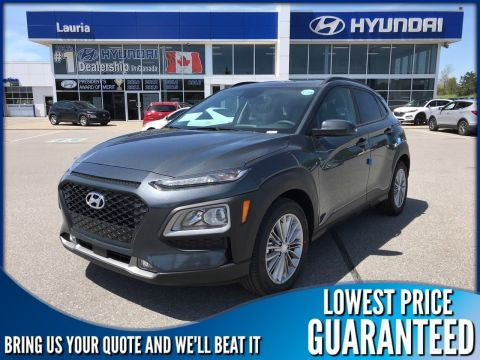 New 2020 Hyundai Kona 2.0L AWD Luxury Auto