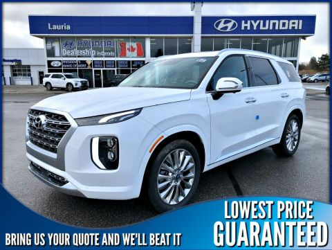 New 2020 Hyundai Palisade V6 AWD Ultimate 7-Passenger