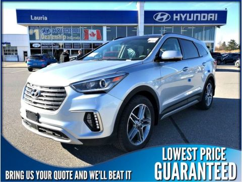 New 2018 Hyundai Santa Fe XL V6 AWD Ultimate *Snow tires & hitch included*