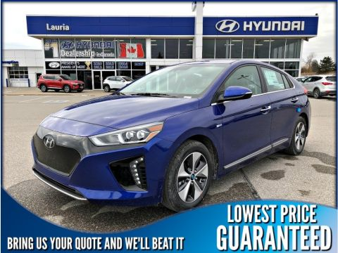 New 2019 Hyundai Ioniq Electric EV Ultimate Auto