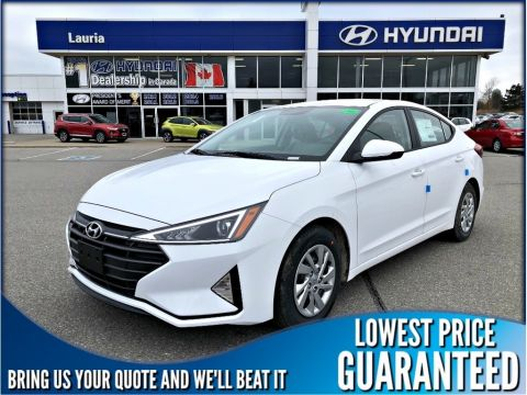 New 2019 Hyundai Elantra Essential Manual