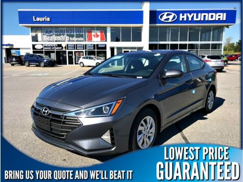 New 2020 Hyundai Elantra Essential Manual