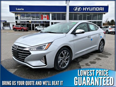 New 2019 Hyundai Elantra Luxury Auto *DEMO*
