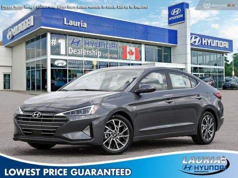 New 2020 Hyundai Elantra Ultimate Auto