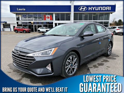 New 2020 Hyundai Elantra Luxury Auto *DEMO*