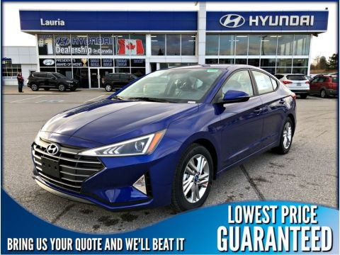 New 2020 Hyundai Elantra Preferred Auto w/Sun & Safety Pkg