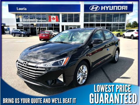 New 2019 Hyundai Elantra Preferred Auto