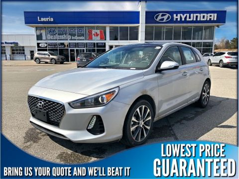 New 2019 Hyundai Elantra GT Luxury Auto