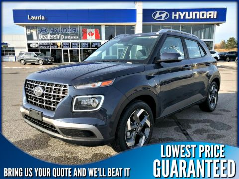 New 2020 Hyundai Venue 1.6L FWD Ultimate Auto