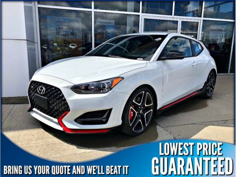 New 2019 Hyundai Veloster N-Line Manual