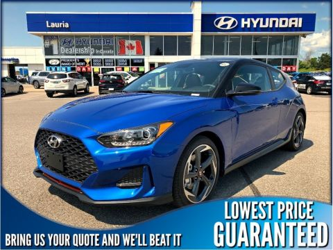 New 2020 Hyundai Veloster Turbo Manual w/Black Roof