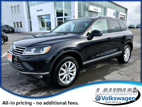 Certified Pre-Owned 2016 Volkswagen Touareg 3.6L V6 Highline AWD - Navigation / Loaded!